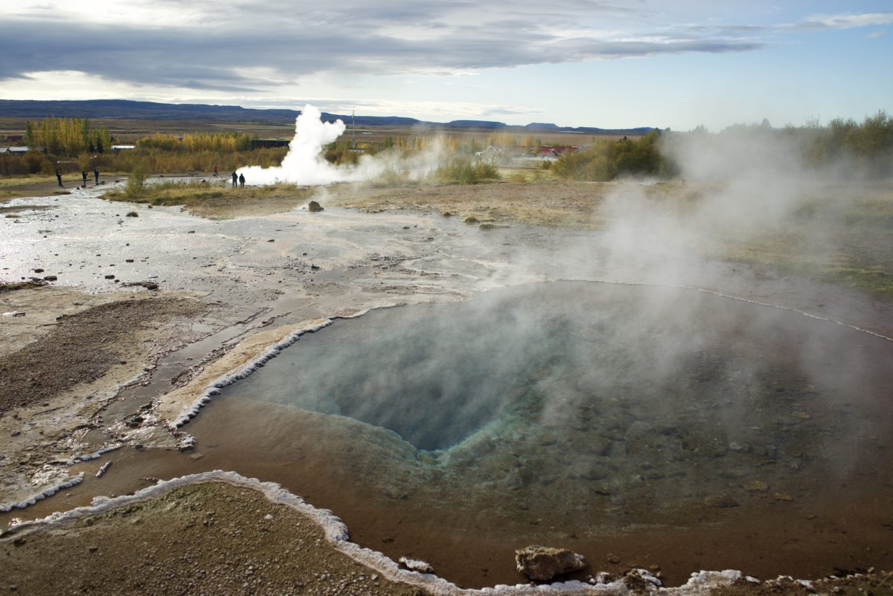 islande geyser