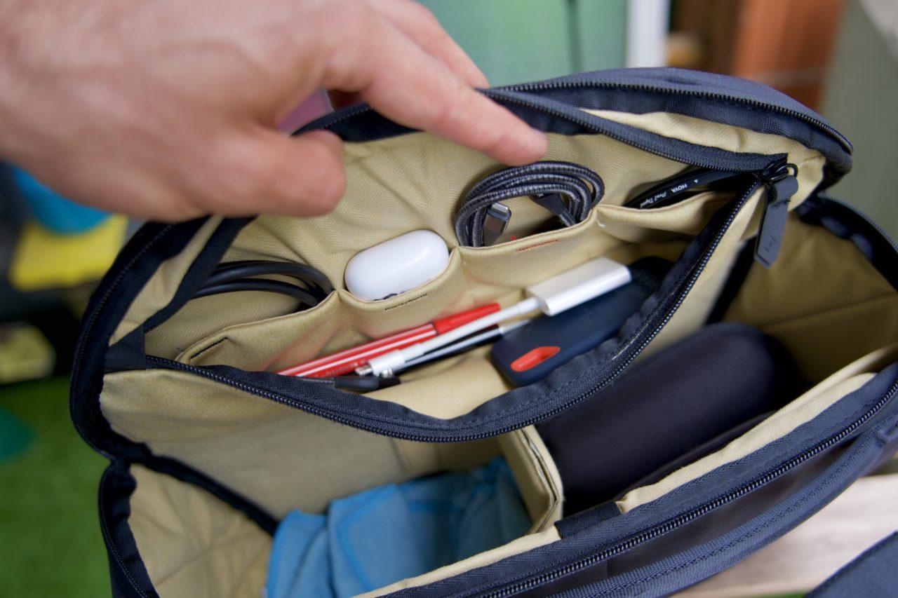 peak design sling doublure bas