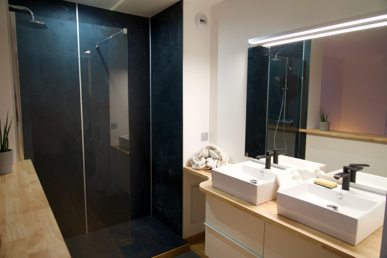 appartement lokan salle de bain