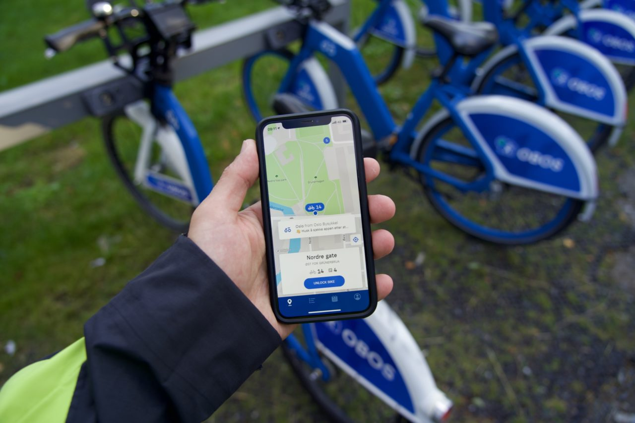 application oslo city bike