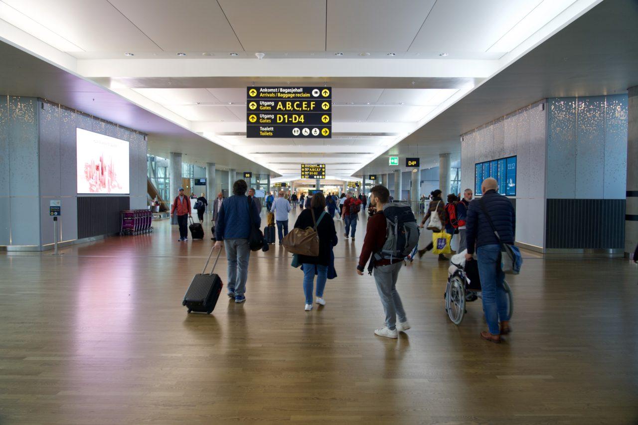 arrivee aeroport oslo