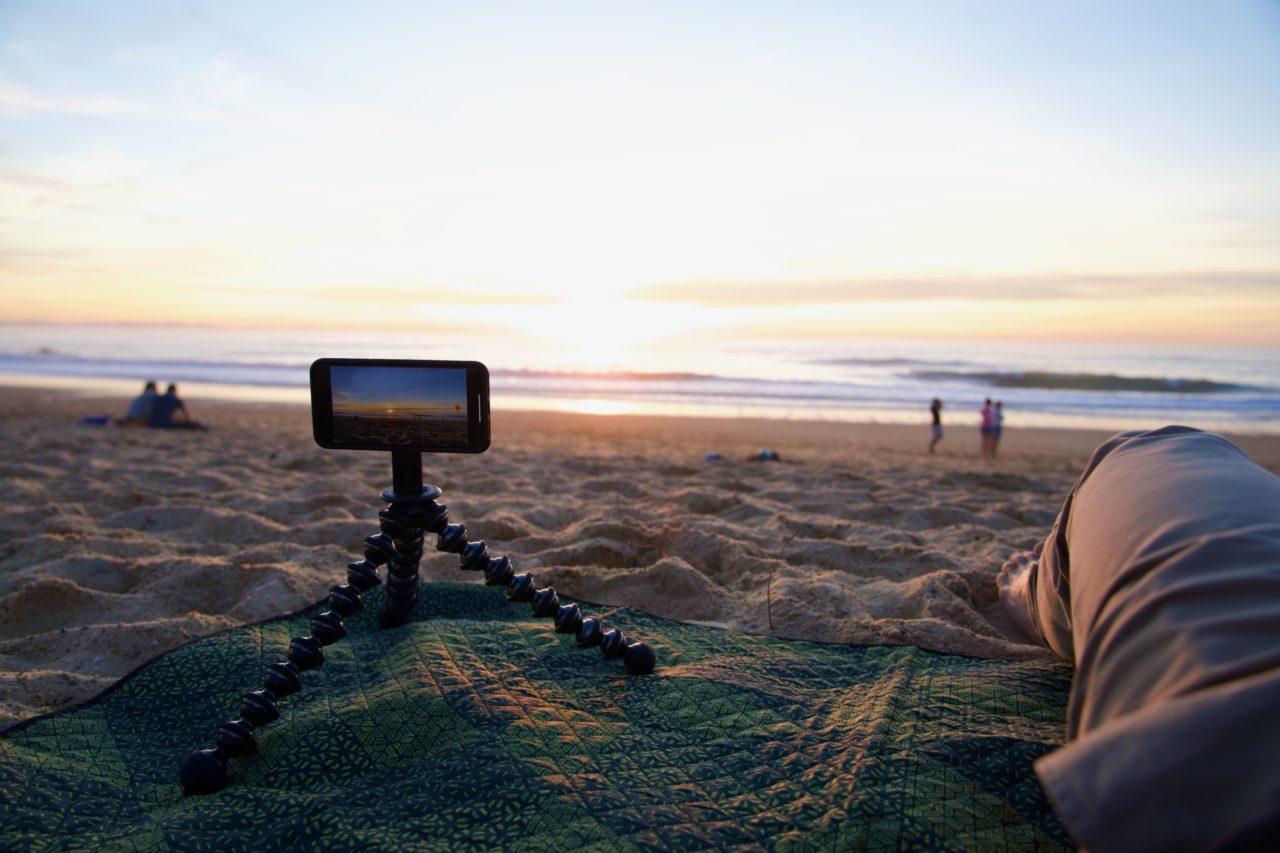iphone 11 pro max quadlock coucher soleil