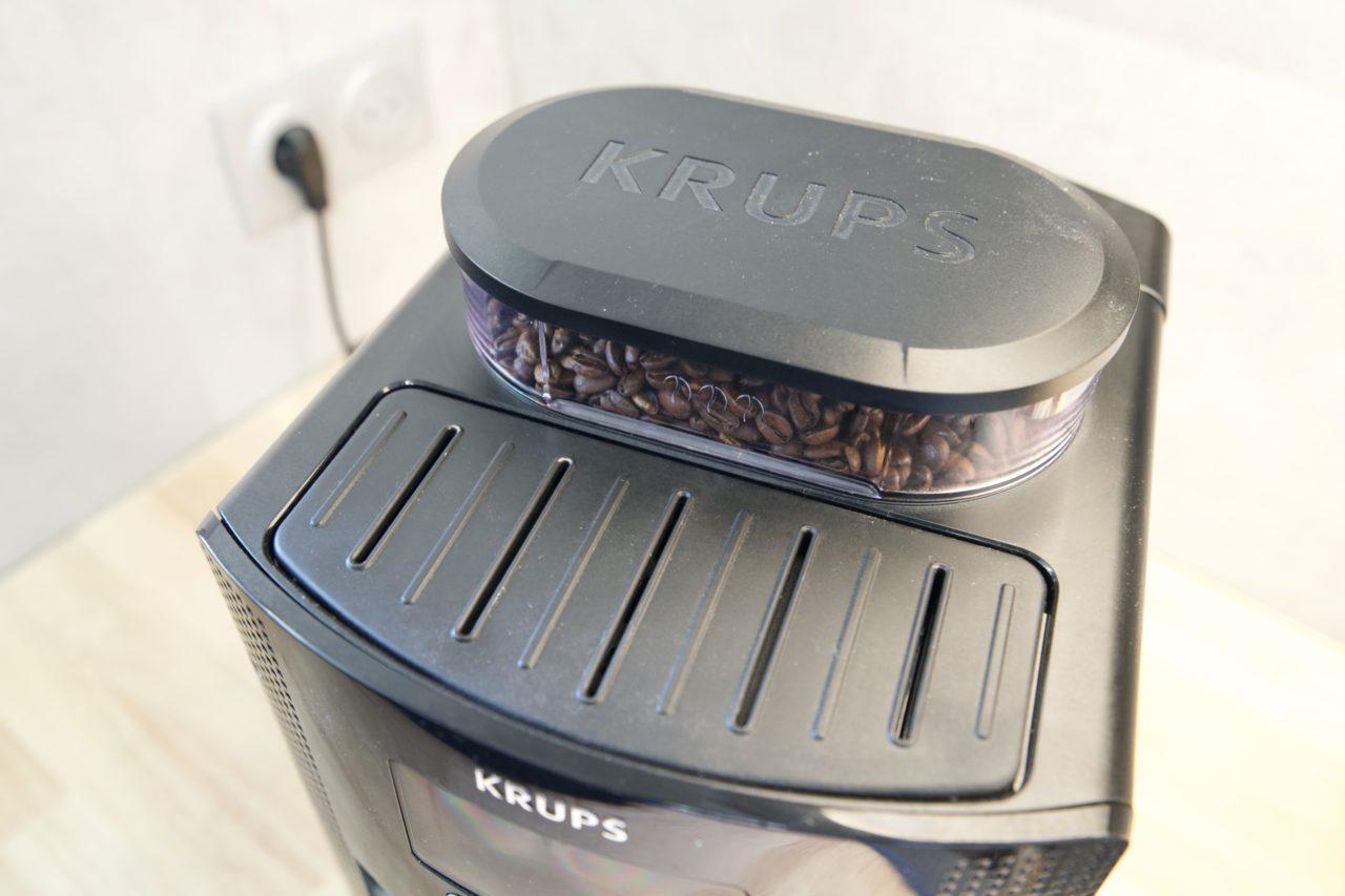 krups essential reservoir grains