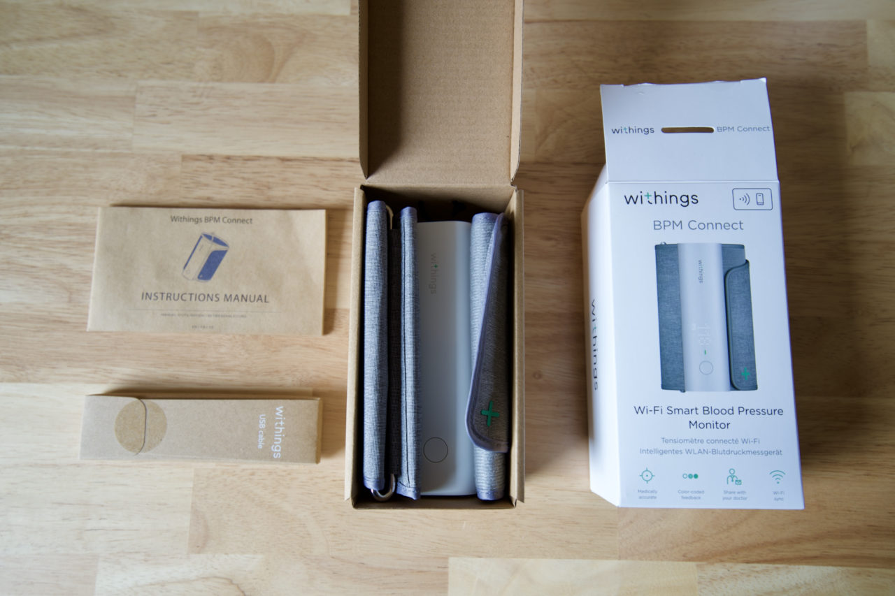 deballage withings bpm connect