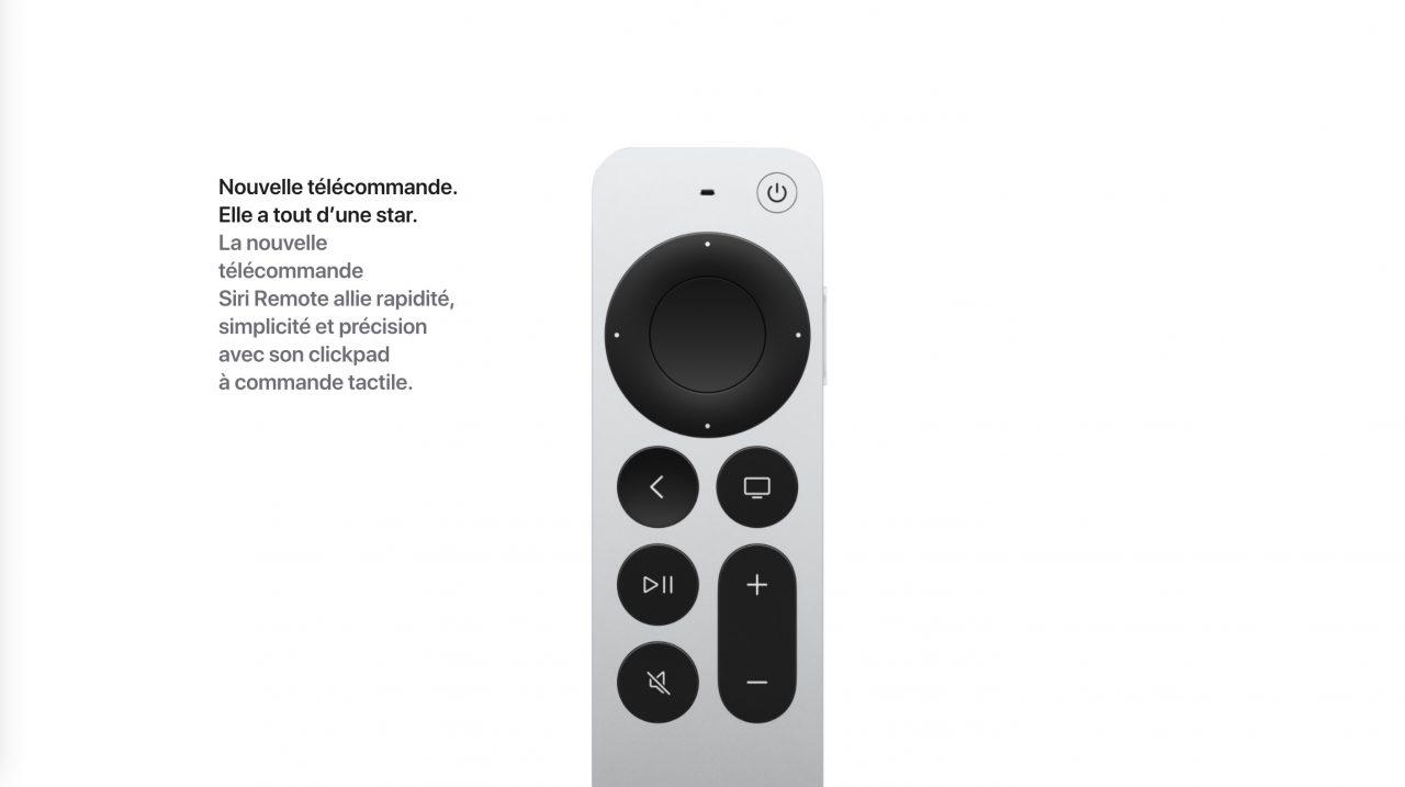 Apple TV Remote aluminium