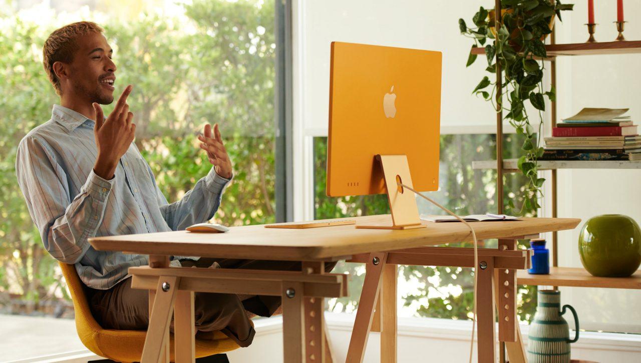 iMac 2021 gold