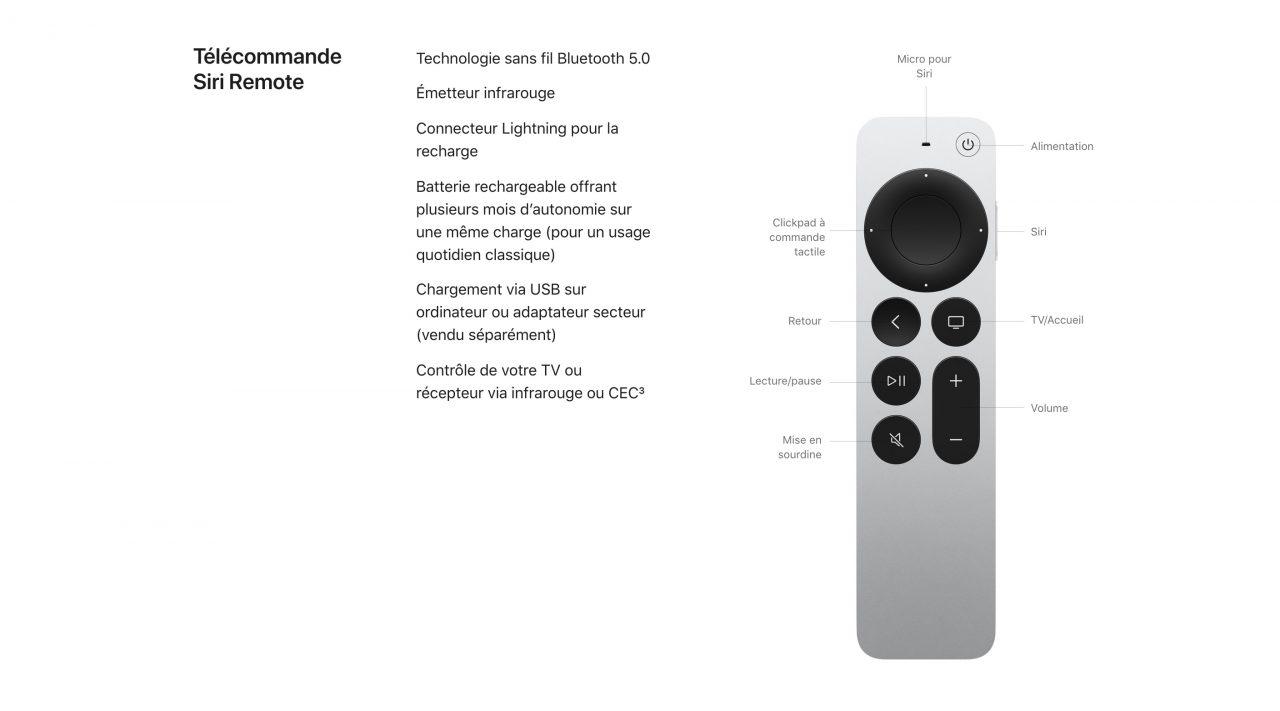 apple tv siri remote aluminium